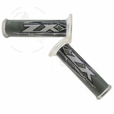 """Black Hand Grip 7/8"""" For Kawasaki ZX Grippy Handle Bar 22mm Left Right Front"""