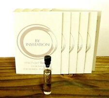 BY INVITATION MICHAEL BUBLE LOT OF '12' 1.2 ML EDPS + TOTE BAG+GIFT NEW LOWER $$