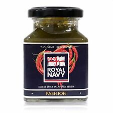 Pash-ion – A Sweet Spicy Jalapeño Relish - Royal Navy Chilli Sauce - UK Made