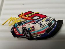 Mark Martin Valvoline # 6 car shaped  embroidered Patch