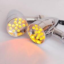Bullet LED Turn Signals Light For Suzuki Boulevard M109R M50 M90 M95 C109R C50