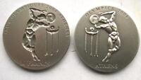 Ghana Congo 2002 Discus Concavo-Conve 1oz Set of 2 Silver Coins,BU