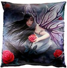 ANNE STOKES ROSE FAIRY LUXURY PURPLE CUSHION PILLOW GOTHIC SOFA BEDDING NOW7012