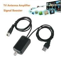 HDTV Antenna Amplifier Signal Booster Cable TV High Boost Channel Gain W2D1