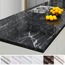 Marble Paper Self Adhesive Peel & Stick Wallpaper Kitchen Countertop Removable
