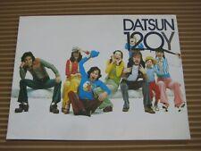 1975 DATSUN 120Y COUPE BERLINE Catalogue Brochure Prospekt Dépliant French