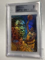 KOBE BRYANT 1997-98 FLAIR SHOWCASE # 18 ROW 1 SEC2 SEAT 18 BGS 9 RARE 1/1 EBAY