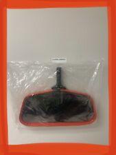 Heavy Duty Pro Swimming Pool Skimmer Leaf Rake w/Black Mesh Net, Aluminum Frame