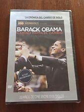 BARACK OBAMA CAMINO HACIA EL CAMBIO - DVD SLIMCASE - EL MUNDO - NEW SEALED NUEVO