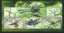 AUSTRALIA 2017 DRAGONFLIES - MINIATURE SHEET FINE USED