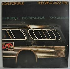 Hank Jones The Great Jazz Trio Love For Sale Japan LP 1976 15PJ-1017 Insert