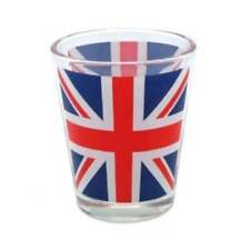 Set of 3 Union Jack Shot Glasses
