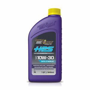 Royal Purple HPS 10w 30 Motoröl Racing oil Rennöl anti Friction Synerlec
