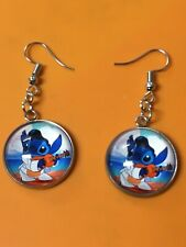 Lilo And Stitch Earrings/Dangle Hook Earrings/Women/Charm/Stitch/Ohana/Elvis