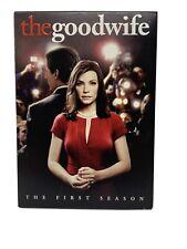 The Good Wife: The First Season 6 DVD Set 1 CBS Julianna Margulies Politics