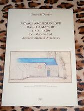 VOYAGE ARCHEOLOGIQUE DANS LA MANCHE 4, Avranches - C. de Gerville - 2001