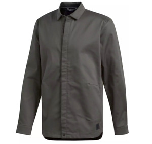 ADIDAS Golf Adicross Button Up Thick stretch Shirt- XL-NEW-$130 olive green coat