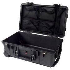 Black Pelican 1510 with 1519 Lid Organizer. Case comes empty / no foam.