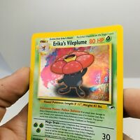 Pokemon Gym Heroes Erika's Vileplume 5/132 Holo Ultra Rare Card WOTC
