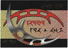 TC Star Trek TNG Season 2 S8 Klingon Sword of Honor