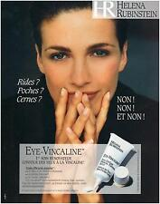 ▬► PUBLICITE ADVERTISING AD Crème HELENA RUBINSTEIN Eye-Vincaline