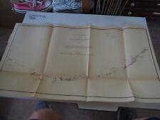 "Antique Map ""U.S. Coast Survey, Sketch of the Aleutian Islands"" 1873"