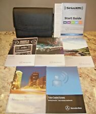 2014 Mercedes Benz C-Class Owners Manual with case