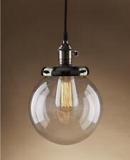 Buyee Modern Industrial Metal Glass Loft Retro Pendant Ceiling Lamp-bronze Head