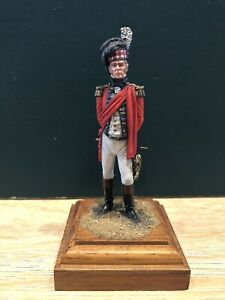 Niena: An Extremely Fine Scottish Officer, c1815. 80mm Metal Model