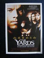 Filmplakatkarte cinema  The Yards - Im Hinterhof der Macht  Mark Wahlberg