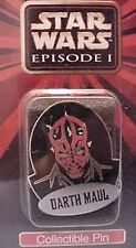 "Applause Darth Maul 1 3/4"" Metal Collector's Pin from Star Wars Episode One-New!"