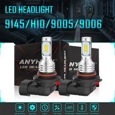 H10 9145 9005 HB3 LED Headlight Kits 35W Fog Bulbs High Beam4000LM 6000K White