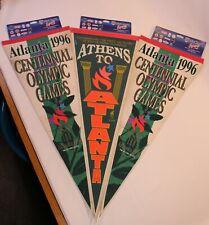 VTG USA Pennant Wincraft Sports Collectible 1996 Olympics Set Lot Atlanta Games