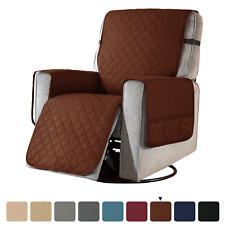 Subrtex Recliner Chair Cover Slipcover Reversible Protector Anti-Slip Sofa Soft