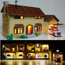 Kyglaring LED Light for LEGO 71006 The Simpsons House with USB hub