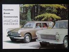 Brochure / Catalogue  Peugeot 404 Familiale Break Automobile Voiture