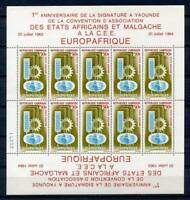 29689) GABON  1964 MNH** EUROPAFRIQUE MS