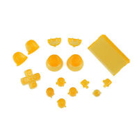 Sony PS4 Playstation 4 Full Button Set - Crystal Yellow