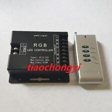 12V-24VDC 48A 576W Wireless RF Controller For RGB LED 5050 3528 Strip light