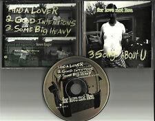 FOR LOVE NOT LISA 3 Songs About U w/ RARE UNRELEASE TRK PROMO DJ CD single 1995