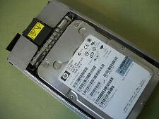 HP ... 72.8 GB WIDE ULTRA320 SCSI ...15K RPM ... 356914-008 ... DRIVE & CADDY