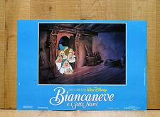 BIANCANEVE E I SETTE NANI fotobusta poster affiche Walt Disney Seven Dwarfs AM29