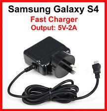 Samsung Galaxy S4 S4 Mini i9505 i9500 AC Wall Charger 5V-2A