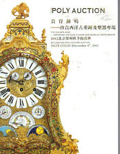 POLY IMPORTANT ANTIQUE CLOCKS PLEYEL STEINWAY PIANO Auction Catalog 2012