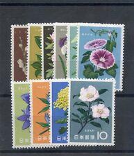 Japan Sc 713-4,716-23(Mi 744-5,747-54)*F-Vf Nh 10 Diff Flowers $15