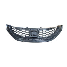 Front Grille Black Fits 2013 2014 2015 Honda Civic Sedan LX/HF Models HO1200216