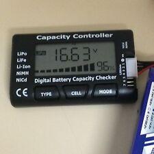 Digital Battery Capacity Checker Tester for LiPo/LiFe/Li-ion/NiMH/NiCd