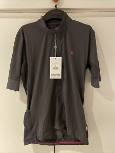 Chapeau Mens Cycling Jersey Etape Grey XL New With Tags