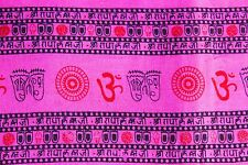 Indian 100% Cotton Rounds Design  Fabric  Dress Cloth Material price per yard