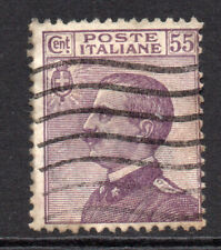 Italy 55 Cent Stamp c1908-27 Used (5477)